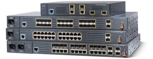 ME3400 Ethernet Switch Series
