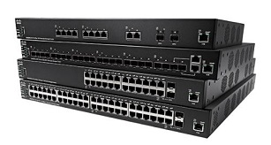 SMB 350X Stackable Managed Switch Series